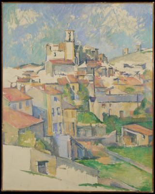Obraz Paul Cezanne - Gardanne