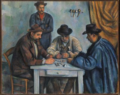 Obraz Paul Cezanne - Gracze w karty. Wersja II