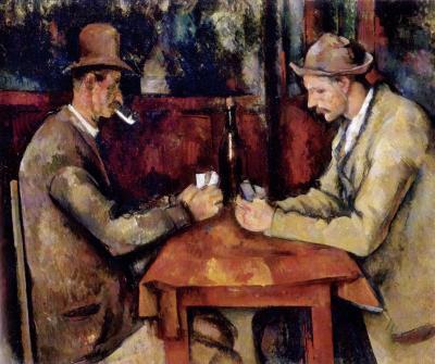 Obraz Paul Cezanne - Gracze w karty