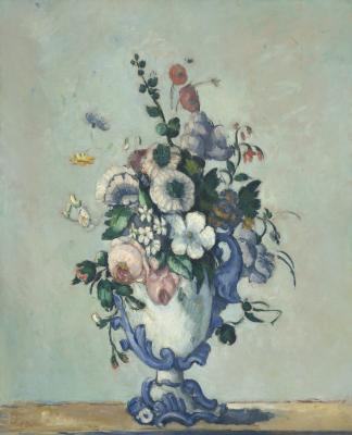 Obraz Paul Cezanne - Kwiaty w rokokowym wazonie