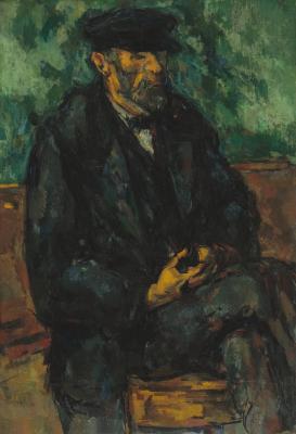 Obraz Paul Cezanne - Ogrodnik Vallier