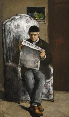 Obraz Paul Cezanne - Portret ojca artysty