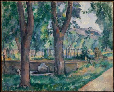 Obraz Paul Cezanne - Staw Jas de Bouffan