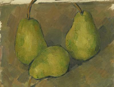Obraz Paul Cezanne - Trzy gruszki