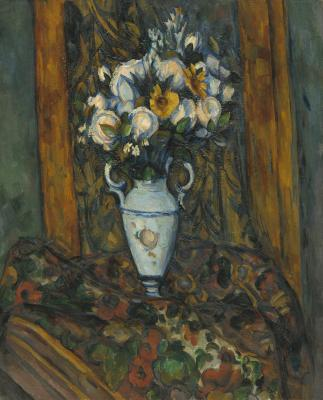 Obraz Paul Cezanne - Wazon z kwiatami