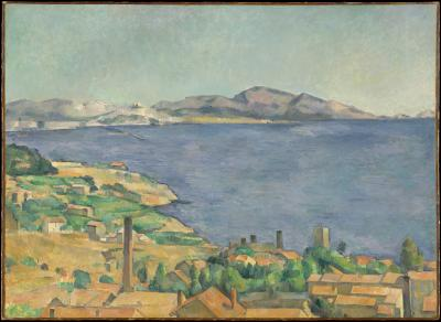 Obraz Paul Cezanne - Zatoka Marsylska widziana z Estaque
