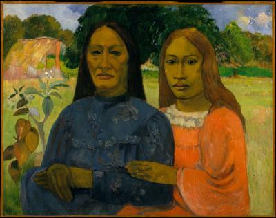 Obraz Paul Gauguin - Dwie kobiety