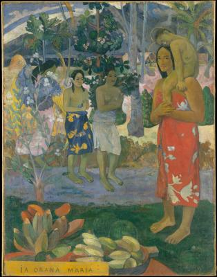 Obraz Paul Gauguin - Ia Orana Maria