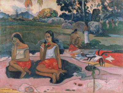 Obraz Paul Gauguin - Nave nave moe