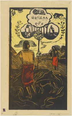 Obraz Paul Gauguin - Noa Noa (Fragrant, Fragrant)