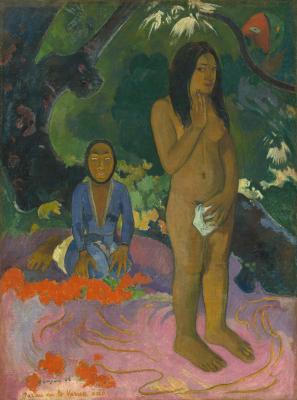 Obraz Paul Gauguin - Parau na te Varua ino