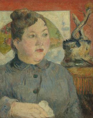 Obraz Paul Gauguin - Portret Alexandre Kohler