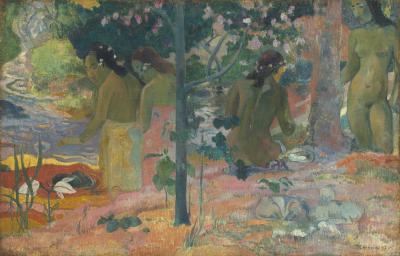 Obraz Paul Gauguin - Praczki