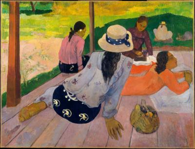 Obraz Paul Gauguin - Siesta