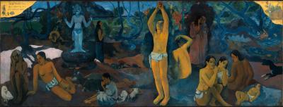 Obraz Paul Gauguin - Skąd przyszliśmy? Kim jesteśmy? Dokąd idziemy?