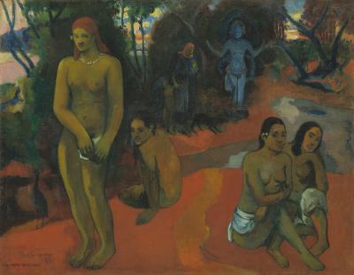 Obraz Paul Gauguin - Te Pape Nave Nave