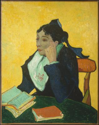 Obraz Vincent van Gogh - Arlezjanka. Pani Ginoux w rękawiczkach i z parasolką