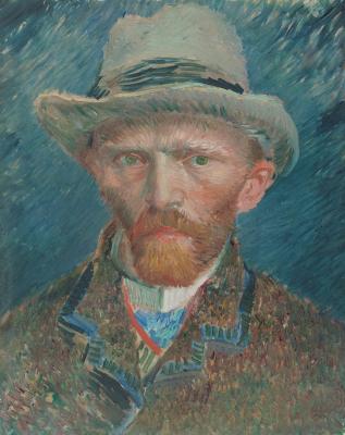 Obraz Vincent van Gogh - Autoportret