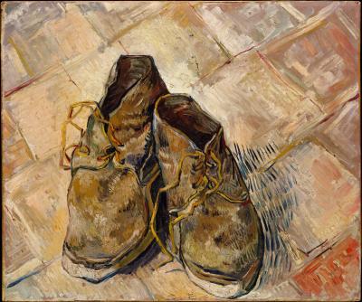 Obraz Vincent van Gogh - Buty