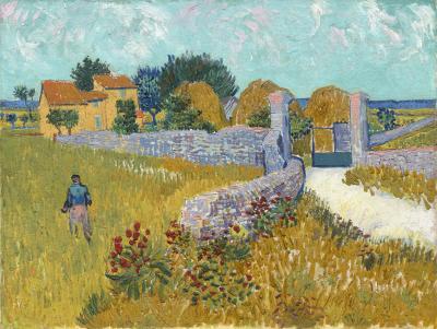 Obraz Vincent van Gogh - Dom w Prowansji