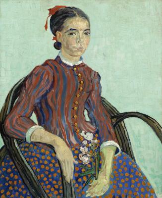 Vincent van gogh - la mousmé