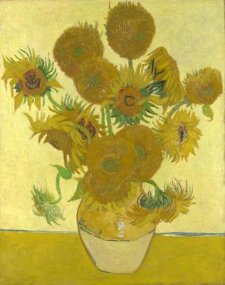 Obraz Vincent van Gogh - Słoneczniki (czwarta wersja)