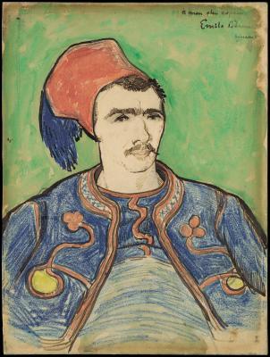 Obraz Vincent van Gogh - Żuaw