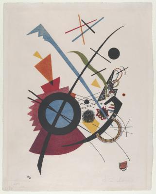Obraz Wassily Kandinsky - Fiolet