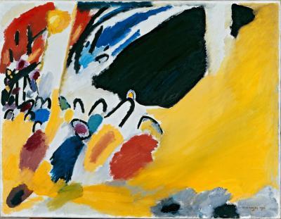 Obraz Wassily Kandinsky - Impresja III. Koncert
