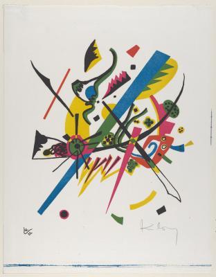 Obraz Wassily Kandinsky - Małe światy I