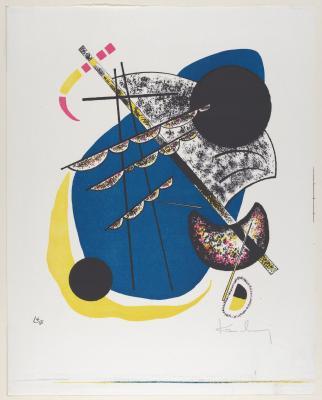 Obraz Wassily Kandinsky - Małe światy II