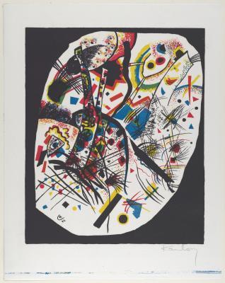 Wassily kandinsky - małe światy iii