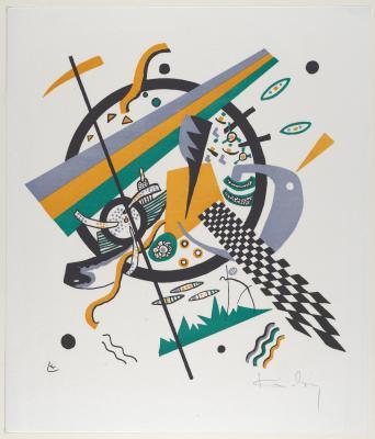 Wassily kandinsky - małe światy iv