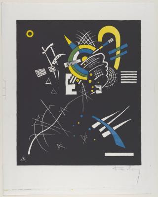 Wassily kandinsky - małe światy vii