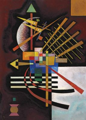 Wassily kandinsky - w górę i w lewo