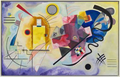 Obraz Wassily Kandinsky - Żółty-czerwony-niebieski