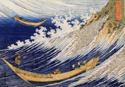 Hokusai - fale oceanu