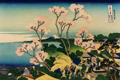 Hokusai - goten-yama hill