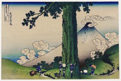 Obraz Hokusai - Mishima Pass