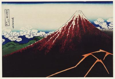 Obraz Hokusai - Sanka Hakuu