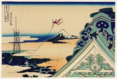 Hokusai - toto asakusa honganji