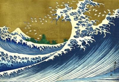 Hokusai - wielka fala