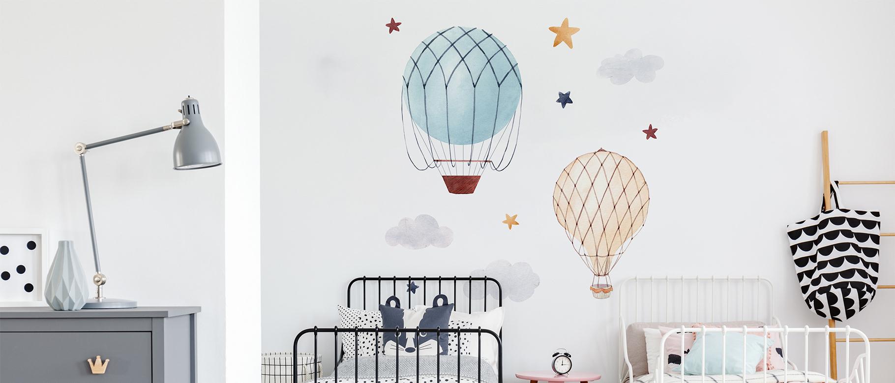 Naklejka latające balony