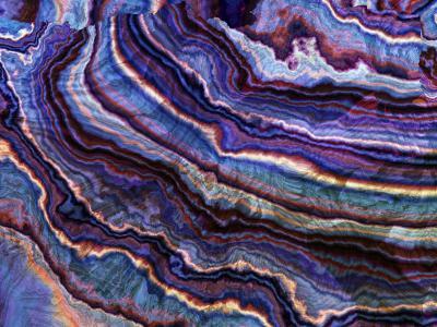 Fototapeta Makro minerał pręgi