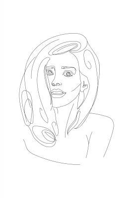 Plakat Kobiecy portret