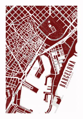 Plakat Plan Barcelony