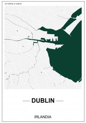 Plakat Plan Dublina