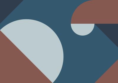 Fototapeta Kompozycja geometryczna z akcentem granatu
