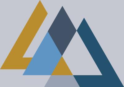 Fototapeta Sekwencja z kolorowymi trójkątami