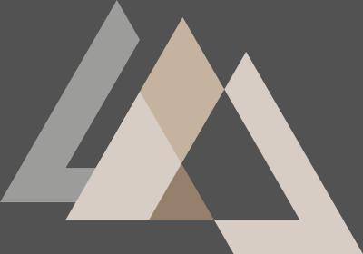 Fototapeta Sekwencja z trójkątami foremnymi